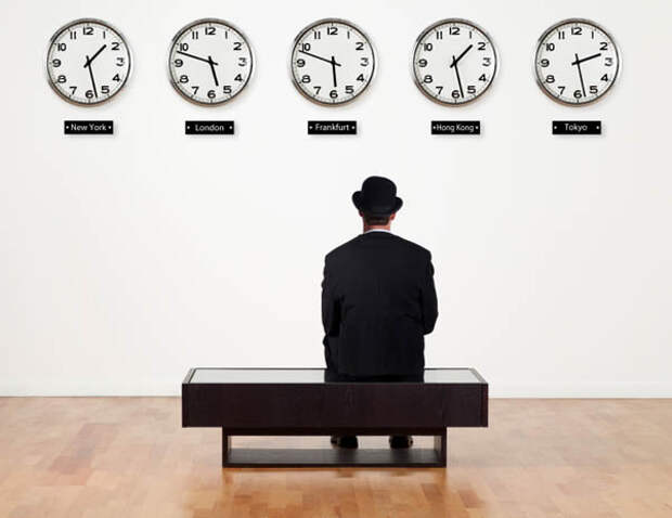 Откуда берется время?