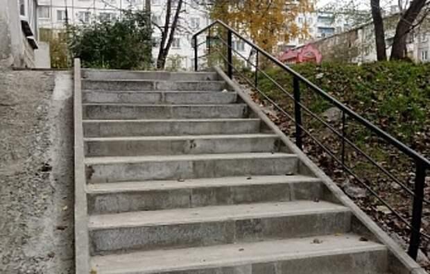 Более 100 лестниц отремонтируют в Свердловском округе