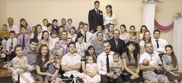 Семья Шишкиных из Воронежской области – еще одни многодетные рекордсмены России