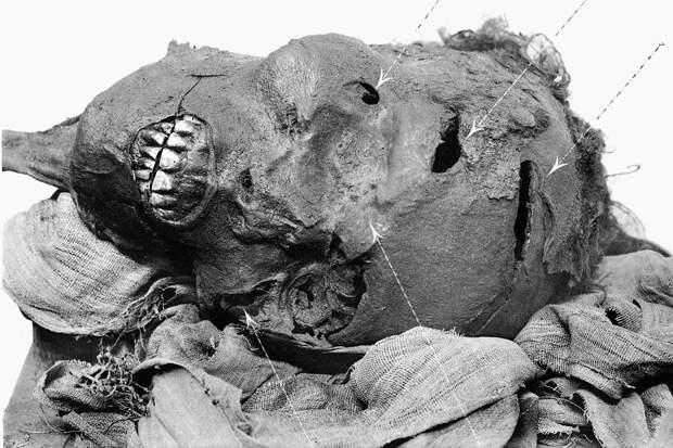 Раскрыта тайна ужасающей смерти египетского фараона