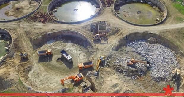 Подрядчик «Роснефти» тонет в севастопольской канализации