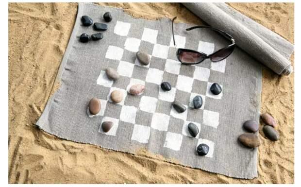 Пляжные шашки