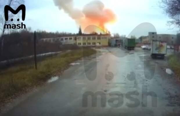 Названа предварительная причина взрыва на предприятии в Лесном