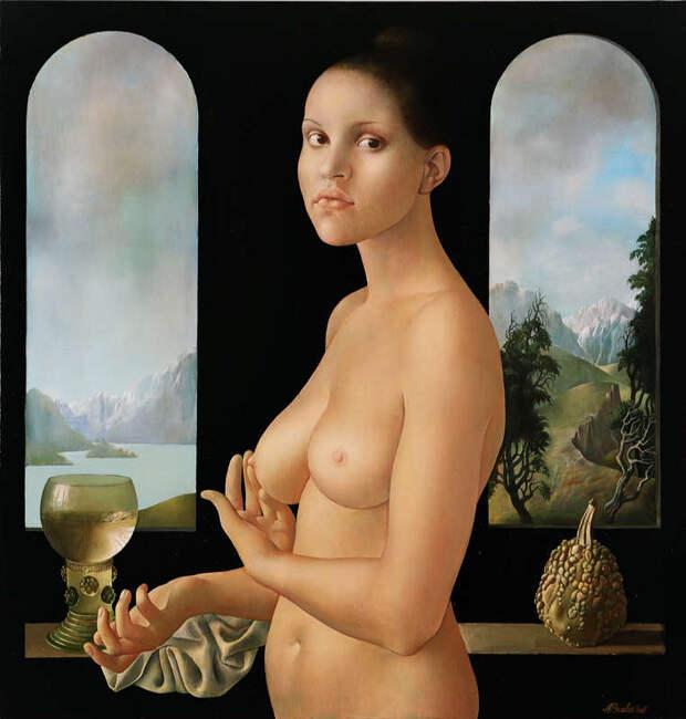 Обнаженная натура в изобразительном искусстве разных стран. Часть 76.