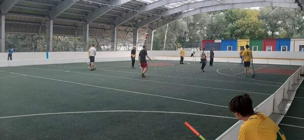 Команда из Отрадного завоевала «серебро» в окружных соревнованиях по флорболу