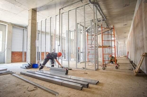 Легкоатлетический манеж на Инженерной откроется в 2020 году Фото с сайта stroi.mos.ru