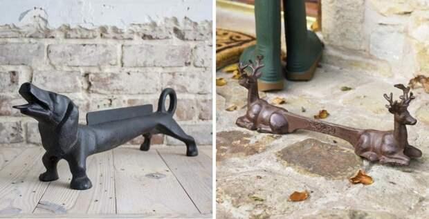 Уличные чистилки для обуви: идеи
