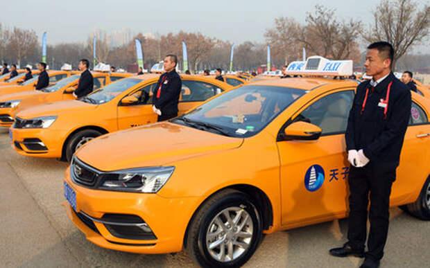 Китай переводит такси и «членовозы» на метиловый спирт