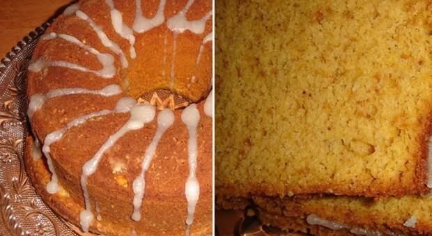 ароматный тыквенный кекс