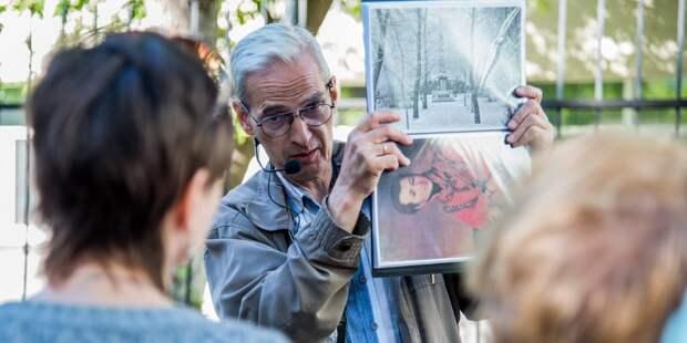 Бесплатная экскурсия по аллее «Дорога жизни» пройдёт в Строгине 14 августа