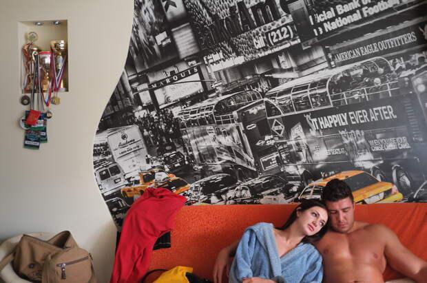 Семья стриптизеров в фотопроекте Анастасии Евсинекиной