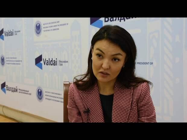 Гаухар Нургалиева о сопряжении ЕАЭС с инициативой «Пояса и пути»