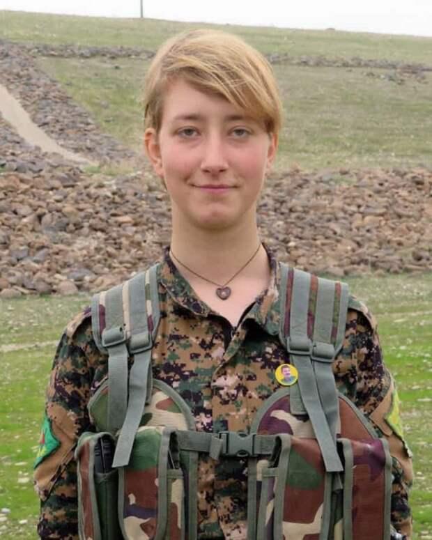Женщина, которая ушла воевать: отец узнал, как погибла его дочь, сражавшаяся в Сирии против ИГИЛа
