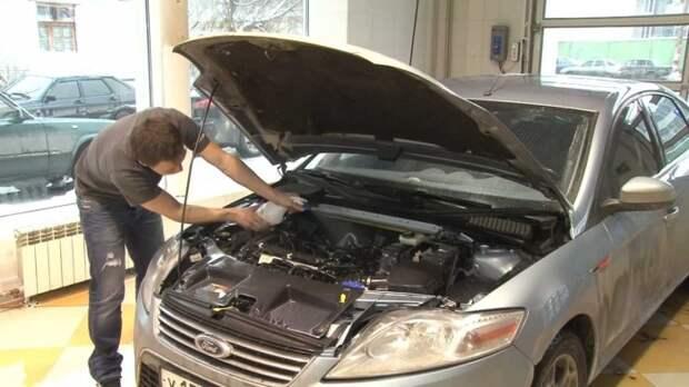 Мыть двигатель можно, но не обязательно.