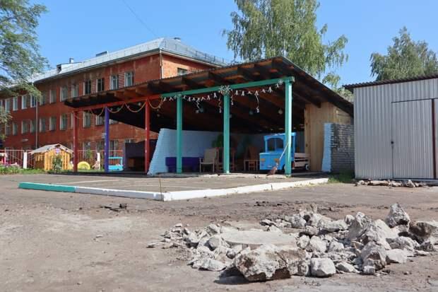 Детские сады Глазова закроют на время благоустройства территории