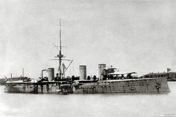 Крейсер «Жемчуг». От Русско-японской войны до боя в Пенанге