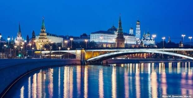 Москва признана лучшим туристическим городом мира Фото: М.Денисов, mos.ru
