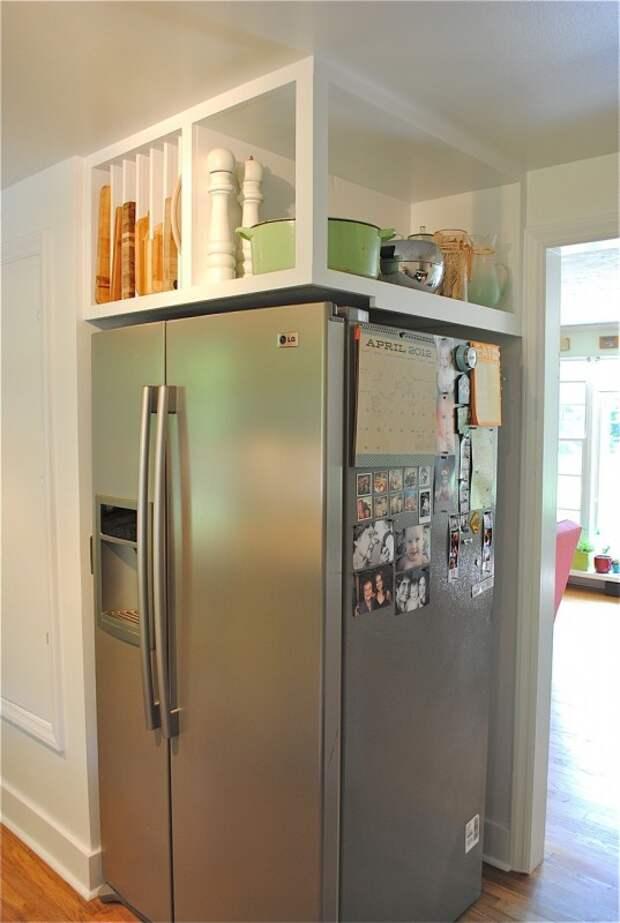 Пристройка над холодильником