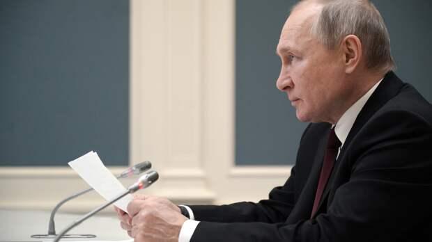 Путин огласил темы послания парламенту