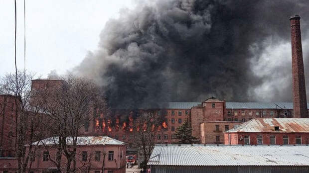 """Бастрыкин взял под контроль пожар в """"Невской мануфактуре"""""""