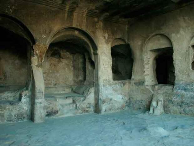 Уплисцихе мистическая крепость бога в Грузии