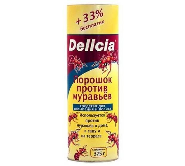 Ядохимикат «Delicia» от муравьев