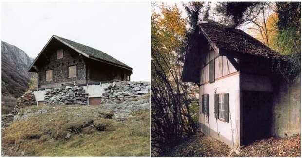 Почему в Швейцарии рядом с настоящими шале расположены фальшивые дома