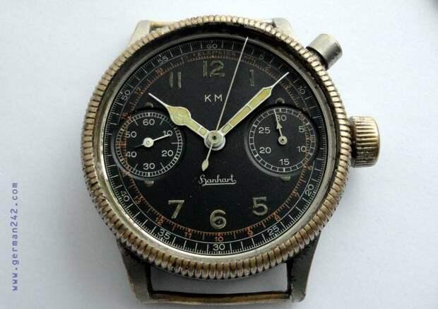 Радиоактивные часы Hanhart