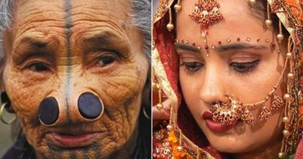 13 жутких вещей, которые считаются эталонами красоты в разных странах.