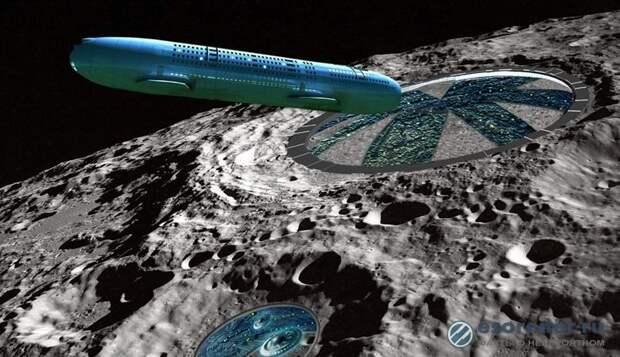 На Луне обнаружили корабль инопланетян