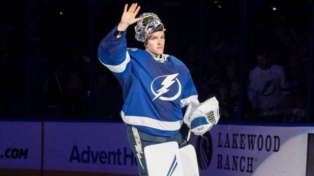 Российский вратарь Андрей Василевский установил очередной супер-рекорд в НХЛ