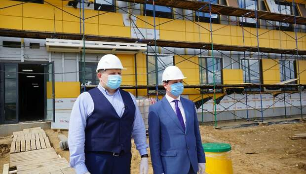 Строительство нового хлебобулочного завода «Коломенский» завершили на 95%