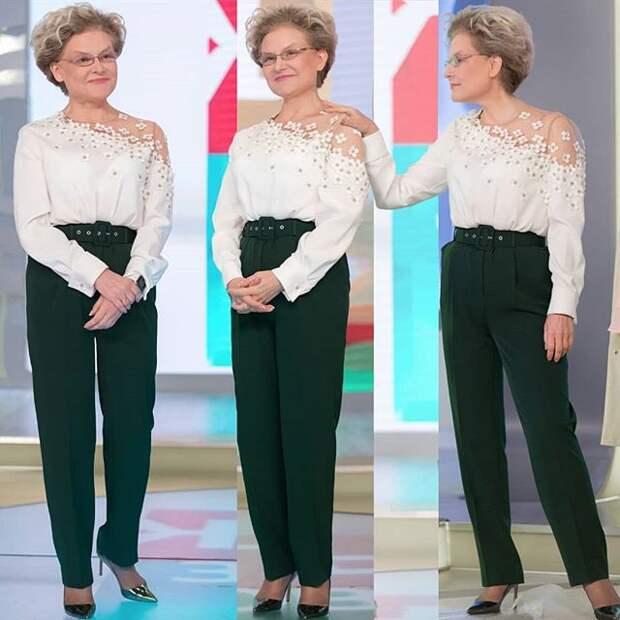 Блузки Елены Малышевой (подборка)