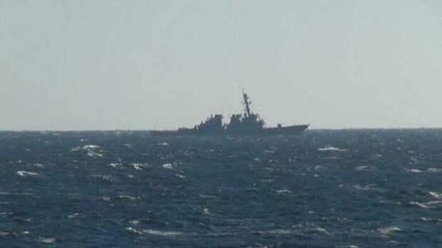 Американский эсминец «Дональд Кук» может прорваться в Керченский пролив