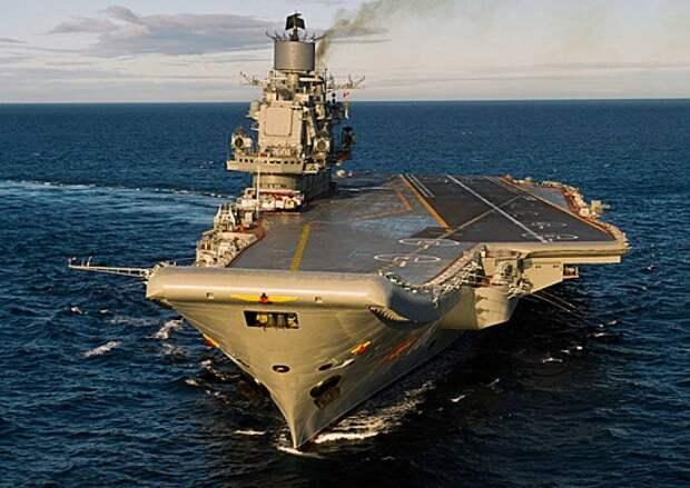 Гроза на океанских просторах: в РФ готовятся создать новый авианосец