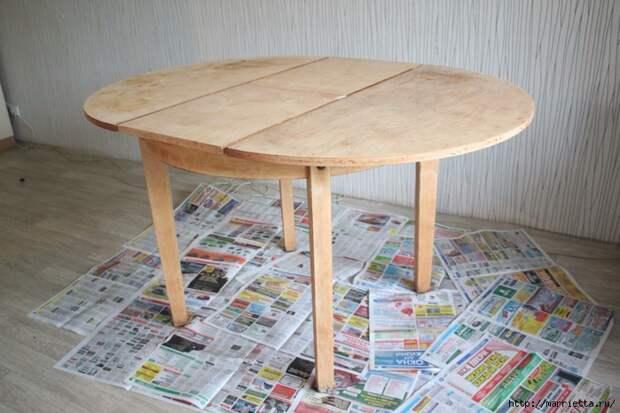 Мастер-класс по созданию стола в стиле шебби шик (5) (700x466, 268Kb)