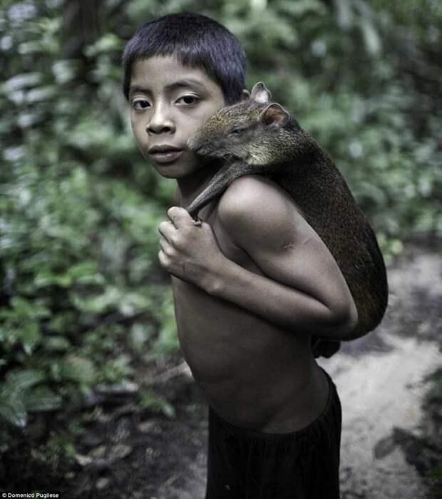 Исчезающее племя Ава