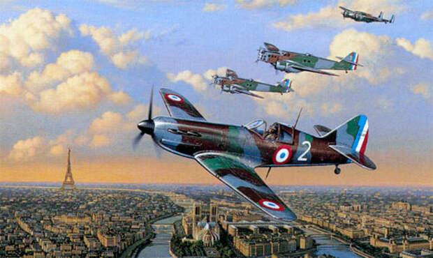 Самолеты Франции WWII