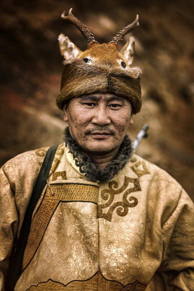 Представитель народа эвенки, проживающего с северо-западной стороны Китая.