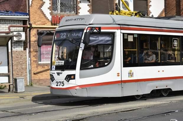 В Краснодаре временно изменятся маршруты и время работы пяти трамваев