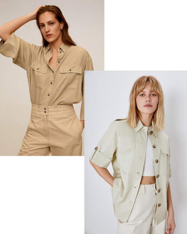 Модные летние блузки и рубашки на каждый день