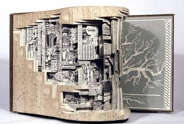 Что сделать из старых книг для дома и декора – подборка идей