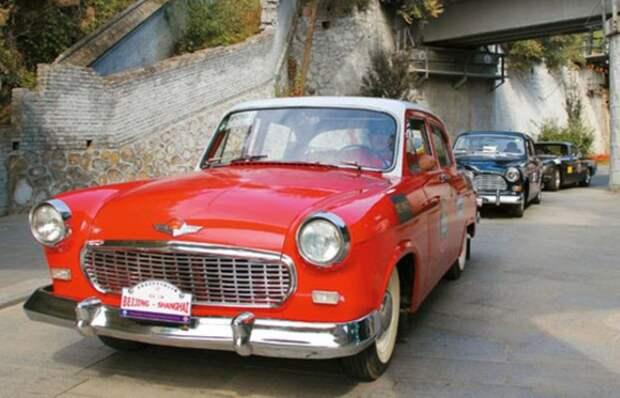5 иностранных автомобилей, которые на самом деле «слизали» с отечественных моделей