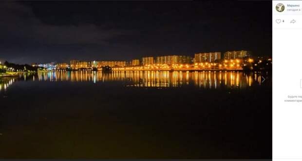 Фото дня: ночной пейзаж