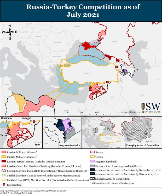 Российско-турецкие отношения. Между партнерством и соперничеством