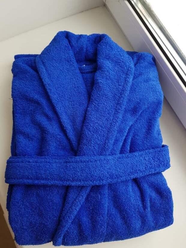 Как сделать коврик для ванной из старого халата