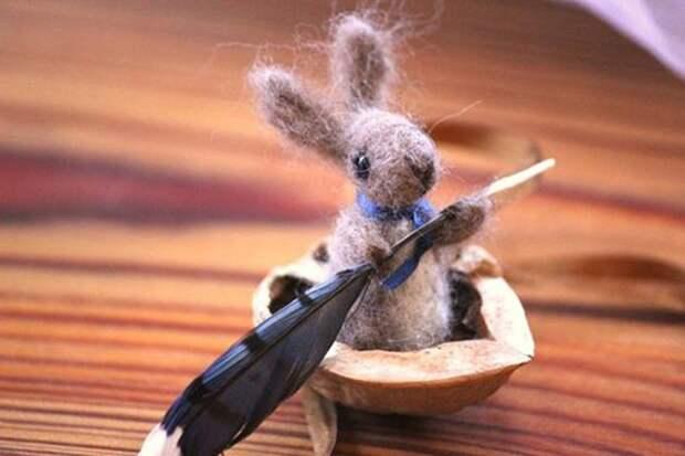 Щёлкаем орешки: скорлупа грецкого ореха как материал для вашего творчества, фото № 32