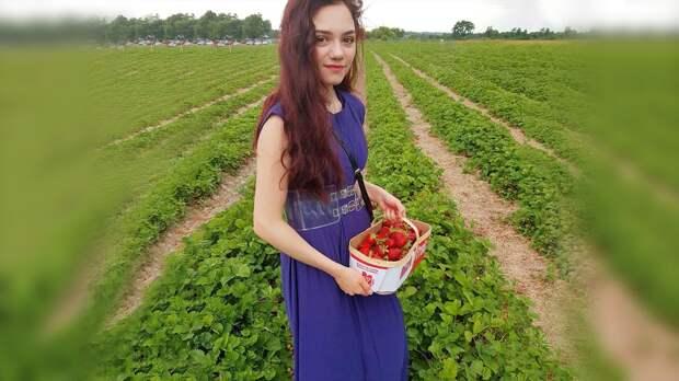 «Деревня Торонтовка». Фигуристка Медведева собрала клубнику вКанаде