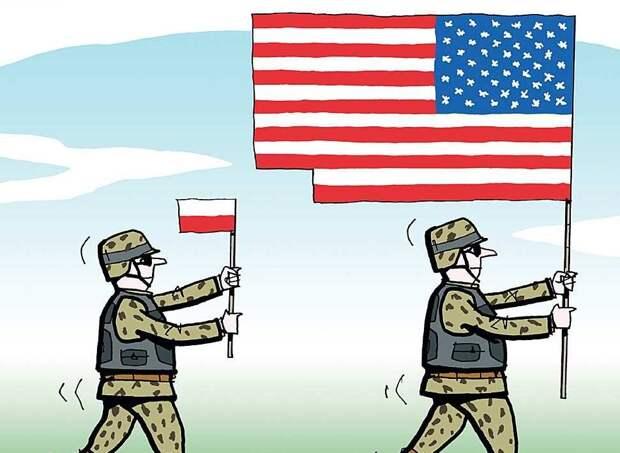 Польша готова костьми лечь за интересы Америки