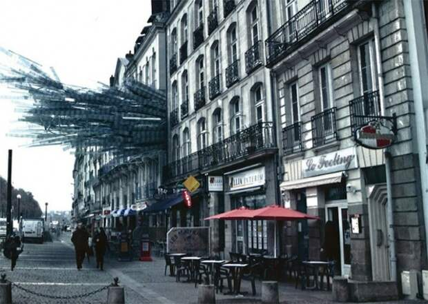 Фестиваль сюрреалистичного уличного искусства во Франции